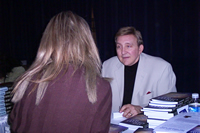 Tom Signing Books